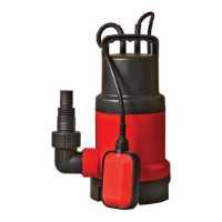 Fotografija Potapajuća pumpa sa plovkom, za nečistu vodu 750W