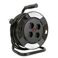 Fotografija Produžni kabl na plastičnoj motalici, H05VV - F3G x 1,5 mm2
