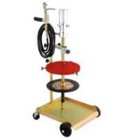 Set pneumatske pumpe za mast sa kolicima za burad do 220kg