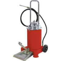 Nožna pumpa za mast sa rezervoarom