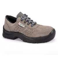 Radna cipela Tritton O1 stepena zaštite je u napravljena od sive antilop kože sa perforacijom.