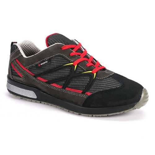 Radna cipela Jogger Black O1 stepena zaštite je napravljena od kombinacije prevrnute kože i tekstila . Unutrašnja postava je od komfornog i mekanog tekstila.