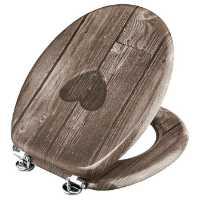 Fotografija WC daska HEART, lakirani medijapan