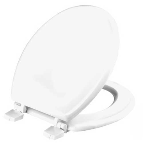 Fotografija WC daska, ORLEANS, bela, MDF sa plastičnim šarkama