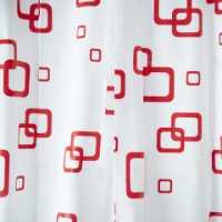 PEVA, GRAMS, Zavesa za kupatilo izrađena od PVC-a, dolazi u kompletu sa 12 kukica i jednostavno se kači. Dimenzija 180x200cm