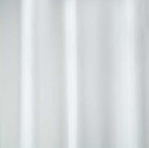 Kupatilska Zavesa, 180x200cm, poliester, WHITE