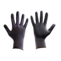 Zaštitne rukavice, nitril, DARKSTER ktegorije II koja pruža zaštitu od mehaničkih rizika i ima ocene 4131