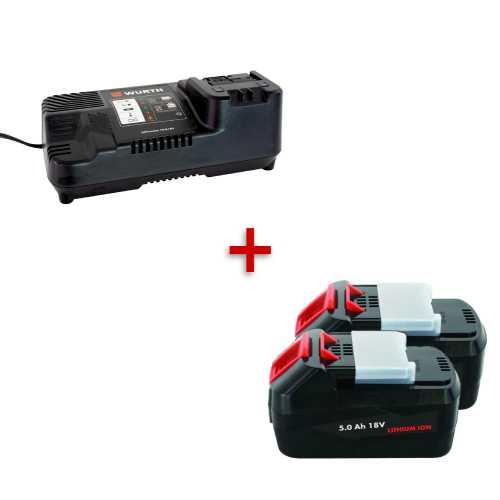 Starter pack - 2 baterije 5Ah i punjač po odličnoj ceni